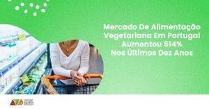 mercado vegetariano aumentou 513 porcento