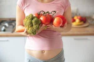 alimentacao da gravida vegana